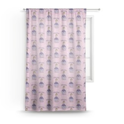 Custom Princess Sheer Curtains (Personalized)