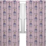 Custom Princess Sheer Curtains (Personalized)
