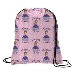 Custom Princess Drawstring Backpack (Personalized)