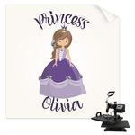 Custom Princess Sublimation Transfer (Personalized)
