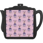 Custom Princess Teapot Trivet (Personalized)