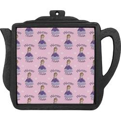 Custom Princess Teapot Trivet (Personalized)