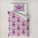 Custom Princess Toddler Bedding w/ Name All Over