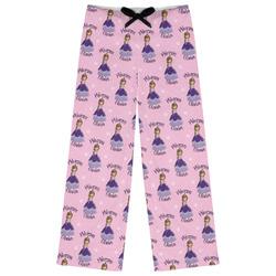 Custom Princess Womens Pajama Pants (Personalized)