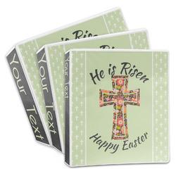 Easter Cross 3-Ring Binder