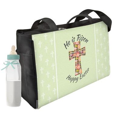 Easter Cross Diaper Bag