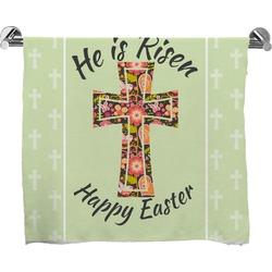 Easter Cross Full Print Bath Towel