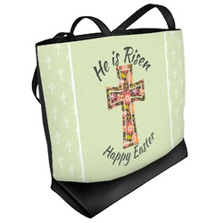 Easter Cross Beach Tote Bag