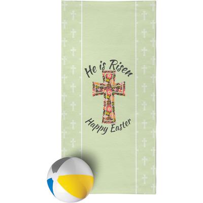 Easter Cross Beach Towel