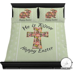 Easter Cross Duvet Cover Set