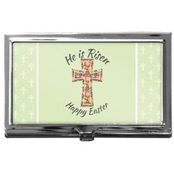 Easter Cross Business Card Case