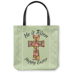 Easter Cross Canvas Tote Bag