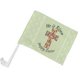 Easter Cross Car Flag