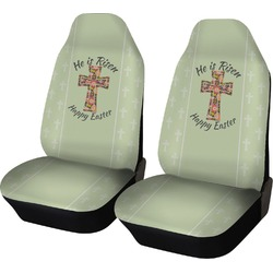 Easter Cross Car Seat Covers (Set of Two)
