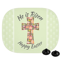 Easter Cross Car Side Window Sun Shade