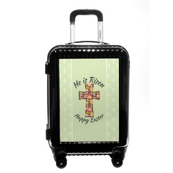 Easter Cross Carry On Hard Shell Suitcase