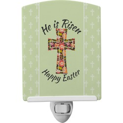 Easter Cross Ceramic Night Light