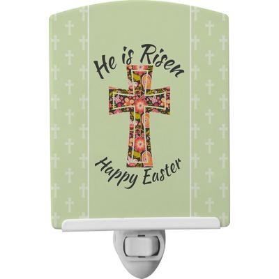 Easter Cross Ceramic Night Light