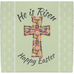 Easter Cross Ceramic Tile Hot Pad