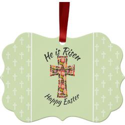 Easter Cross Ornament