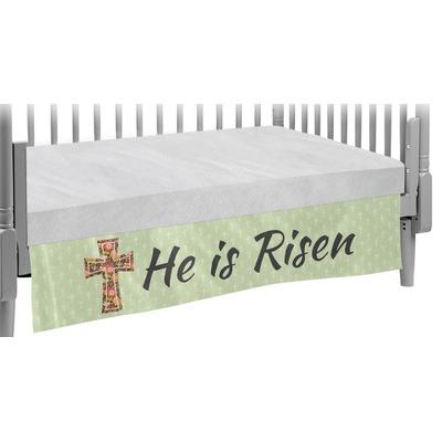 Easter Cross Crib Skirt