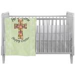Easter Cross Crib Comforter / Quilt