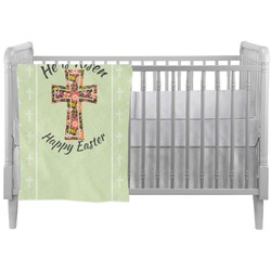 Easter Cross Crib Comforter / Quilt