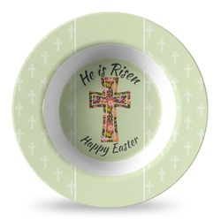 Easter Cross Plastic Bowl - Microwave Safe - Composite Polymer
