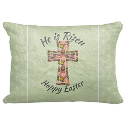 "Easter Cross Decorative Baby Pillowcase - 16""x12"""