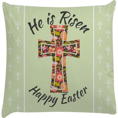 Easter Cross Decorative Pillow Case