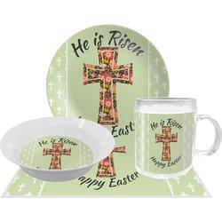 Easter Cross Dinner Set - Single 4 Pc Setting