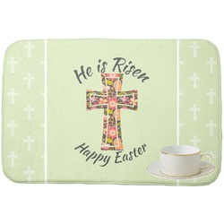 Easter Cross Dish Drying Mat
