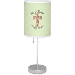 "Easter Cross 7"" Drum Lamp with Shade"