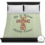 Easter Cross Duvet Cover