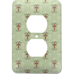 Easter Cross Electric Outlet Plate