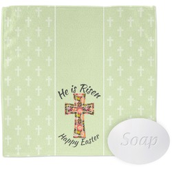 Easter Cross Wash Cloth