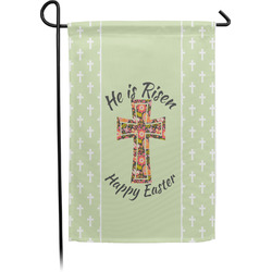Easter Cross Garden Flag - Single or Double Sided
