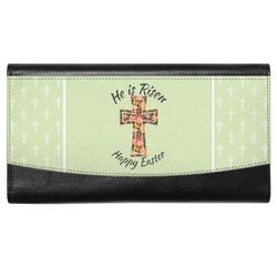 Easter Cross Genuine Leather Ladies Wallet