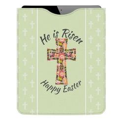 Easter Cross Genuine Leather iPad Sleeve