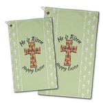 Easter Cross Golf Towel - Full Print