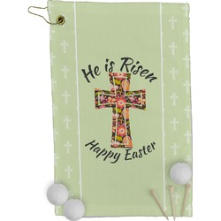 Easter Cross Golf Towel - Full Print