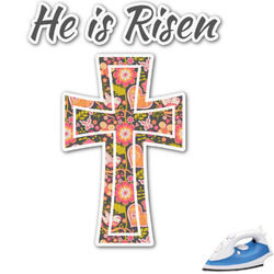 Easter Cross Graphic Iron On Transfer