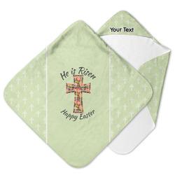 Easter Cross Hooded Baby Towel