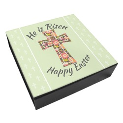 Easter Cross Leatherette Keepsake Box - 3 Sizes