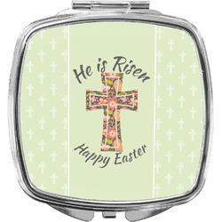 Easter Cross Compact Makeup Mirror