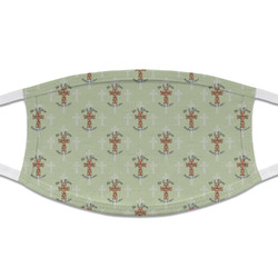 Easter Cross Cloth Face Mask (T-Shirt Fabric)