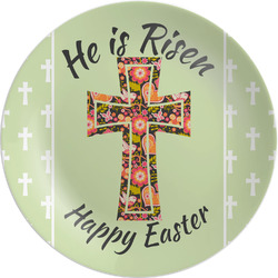 Easter Cross Melamine Plate
