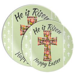 Easter Cross Melamine Plate