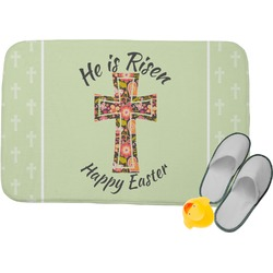 Easter Cross Memory Foam Bath Mat
