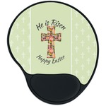 Easter Cross Mouse Pad with Wrist Support